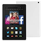 """Fire HD 7, 7"""" HD Display, Wi-Fi, 8 GB (White) - Includes Special Offers"""