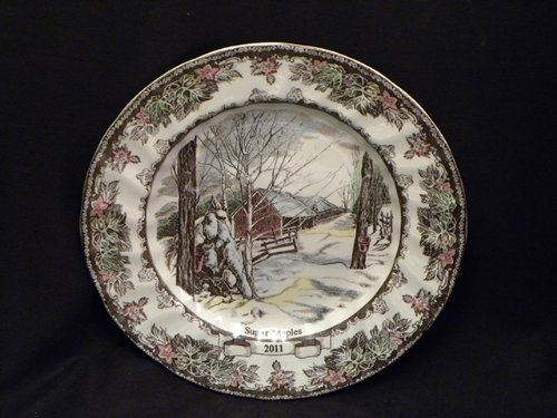 Johnson Bros. Friendly Village Collector Plate 2011