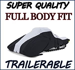 Super Quality, Full Fit Snowmobile Sled cover fits Arctic Cat F8 Tony Stewart LE 2007 by SBU