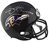 Joe Flacco Autographed Replica Helmet w/ SB XLVII Champs - PSA ITP - PSA/DNA Certified - Autographed NFL Helmets at Amazon.com