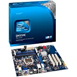Intel Hunter Cove LGA1156 Motherboard (H55 ATX Box, FSB 1333, 2 PCIE, 3 PCI, DDR3, 6 SATA)by Intel