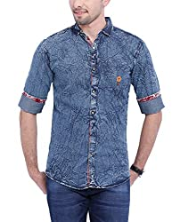 Vintage Dr Blue Slim fit Shirts