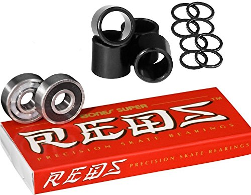 Bones Super Reds (w/ Spacers & Washers) (Super Bones Reds compare prices)