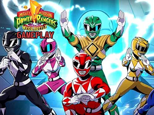 Clip: Mighty Morphin Power Rangers: Mega Battle Gameplay