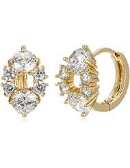 Sia Art Jewellery Clip On Earrings For Women (Golden) (AZ3455)