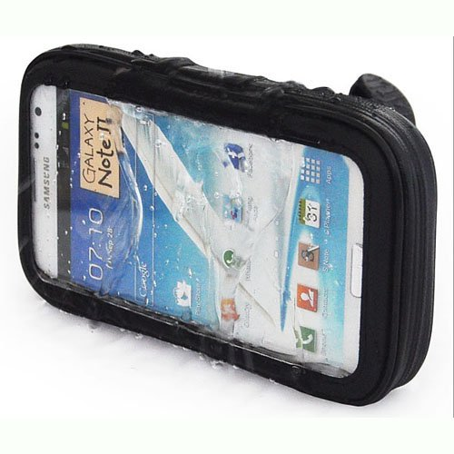 Generic Motorcycle / Bike Waterproof Handlebar Mount Case For For Samsung Galaxy Note 2 N7100 I9220