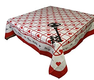 Key To My Heart Tablecloth