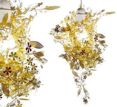 How To Get Tord Boontje Garland Shade Brass Shade Only