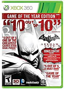 Batman: Arkham City (Game of the Year Edition) - Xbox 360