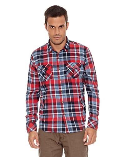 New Caro Camicia Uomo Juan [Rosso]