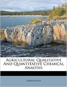 Agricultural Qualitative And Quantitative Chemical