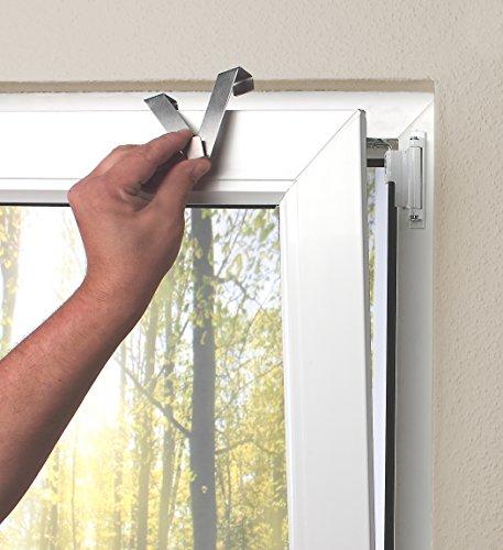 Home fashion 69580 718 kolari tenda a pacchetto in - Ganci per finestre ...