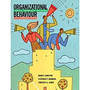 VangoNotes for Organizational Behaviour: Concepts, Controversies, Applications, 5th Canadian Edition | [Nancy Langton, Stephen Robbins, Timothy Judge]