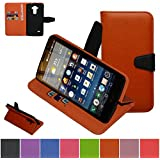 LG G4 Stylus Case ,LG G Stylo Case ,LG G4 Note LS770 Case,Mama Mouth [Stand View] Folio Flip Premium PU Leather...