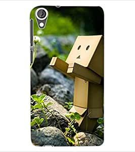 ColourCraft Funny and Creative Design Back Case Cover for HTC DESIRE 820