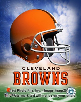 Cleveland Browns Logo 8x10 Color Photo