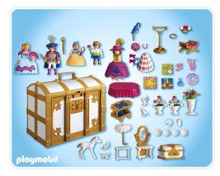 jeux et jouets playmobil 4249 jeu de construction coffre de princesses transportable. Black Bedroom Furniture Sets. Home Design Ideas
