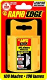 Rapid Tools RT00016 Serrated Utility Replacement Blade, 100-Pack