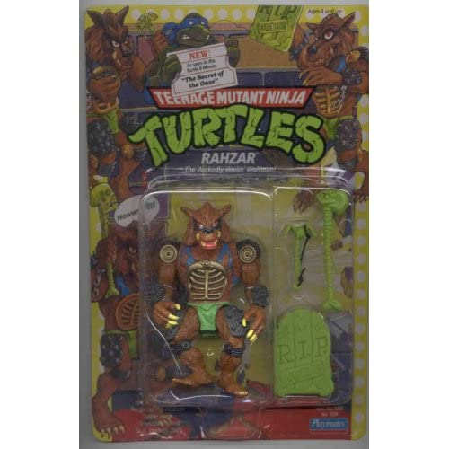 Teenage Mutant Ninja Turtles TMNT Rahzar Action Figure Toys & Games