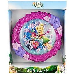 Disney Tinkerbell Fairies Wall Clock, 8\