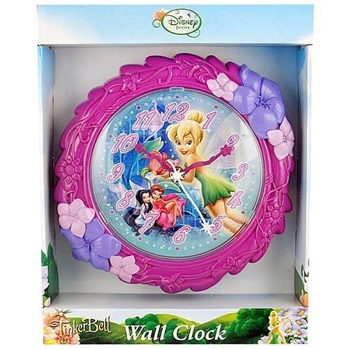 Disney Tinkerbell Fairies Wall Clock, 8