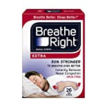 Breathe Right Nasal Strips, Extra, 26 ct.
