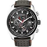 Citizen Herren-Armbanduhr XL Analog Quarz Edelstahl AT9036-08E