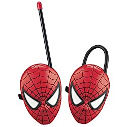 Catterpillar Battery Operated Walkie Talkie set for Kids (Spiderman)