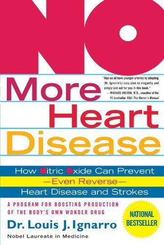 Sale alerts for St. Martin's Griffin NO More Heart Disease: How Nitric Oxide Can Prevent--Even Reverse--Heart Disease and Strokes by Ignarro. Louis Published by St. Martin's Griffin (2006) Paperback - Covvet