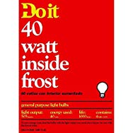 GE Private Label13063Do it Inside Frost Light Bulb-40W 4PK IF BULB