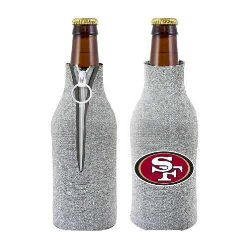 NFL 2012 Football Team Logo Womens Ladies Glitter Beer Bottle Holder Cooler - All 32 Teams Avaialble! (San Francisco 49ers) (49ers Beer Bottle Cooler compare prices)