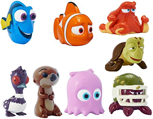 Bandai Finding Dory Collectible Mini Figure Series 1 Blind Bags (Complete Set of 8)