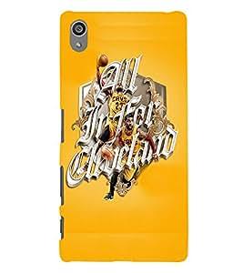 PrintVisa Sports Quotes & Messages 3D Hard Polycarbonate Designer Back Case Cover for Sony Z5 Plus :: Z5 Premium
