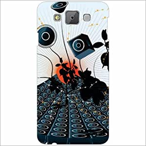 Printland Designer Back Cover for Samsung Galaxy E7 Case Cover