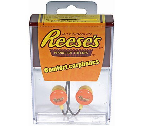 Reese's Peanut Butter Cups 3.5mm Stereo Headsets