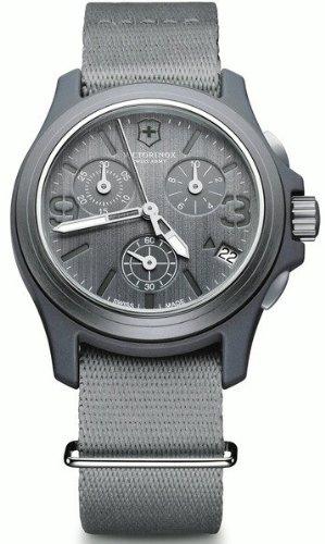 Relojes Unisex Victorinox ORIGINAL CHRONO GRIS CORREA LONETA V241532