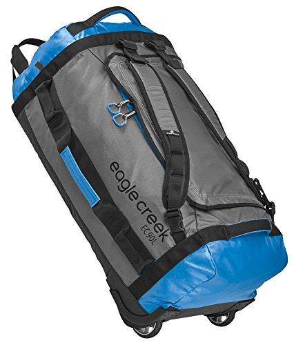 Eagle Creek Cargo Hauler Rolling Duffel 90l - Large Suitcases, Blue/Grey