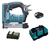 MAKITA 18V LXT BST221 BST221Z BST221RFE STAPLER, BL1830 BATTERY, DC18RC CHARGER AND LXT400 BAG - PF TRADE