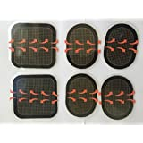 2 Sets (6 Gelpads) Replacement Gel Pads for All the Ab Flex Belt- Abs Abdominal System
