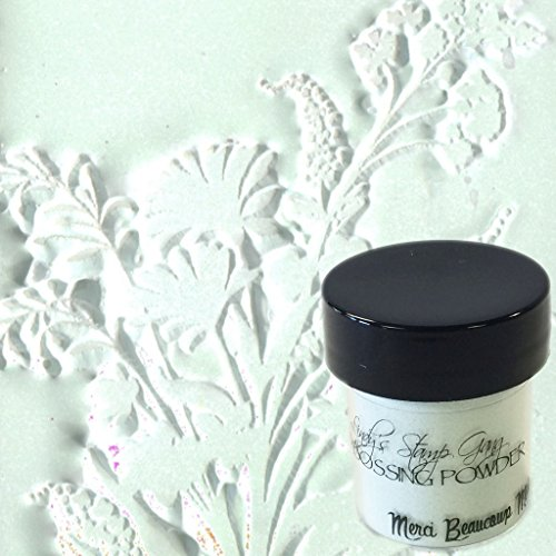 Lindy's Stamp Gang 2-Tone Embossing Powder, 0.5-Ounce, Merci Beaucoup Mint