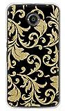 携帯電話taro Y!mobile Nexus 6 ケース カバー (ツルクサ 金箔) Google Nexus6-TAR-1746 の中古画像