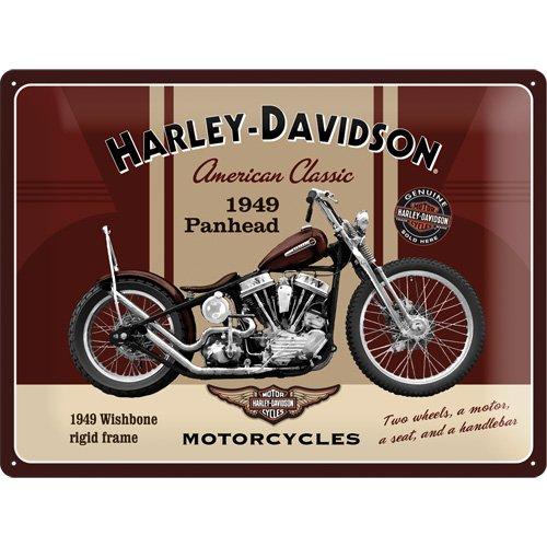 harley-davidson-plaque-en-metal-panhead-40-x-30-cm