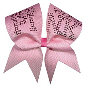 Wear Pink Cheer Bow  Pink Pink Cheer Bow