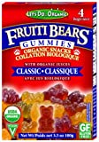 Let's Do Organic Classic Gummi Bears, 3.5-Ounce Boxes (Pack of 12)