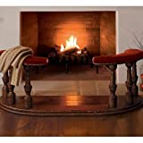 Fireplace Fender - Promenade Red