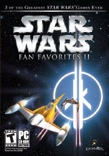 Star Wars Fan Favorite II – SW Jedi Knight II: Jedi Outcast, SW Jedi Knight: Jedi Academy, SW Starfighter