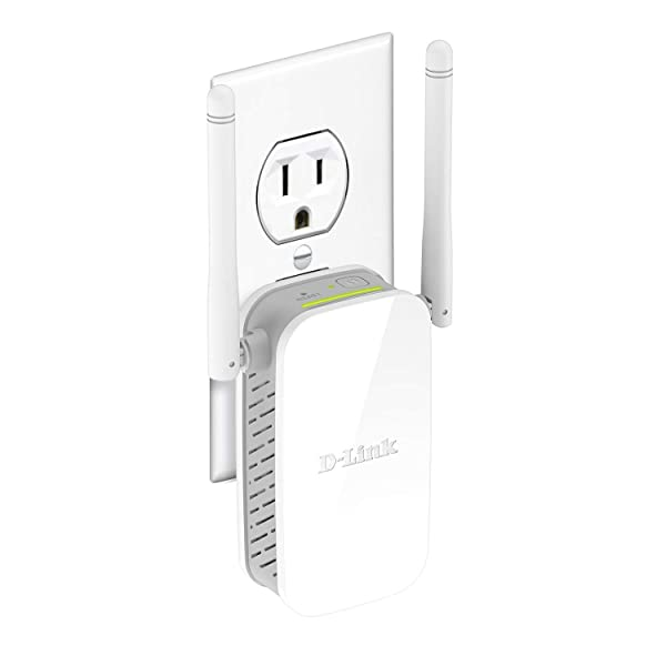 D-Link N300 WiFi Range Extender Wireless Repeater (DAP-1325-US) (Color: White)