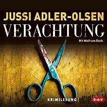 Verachtung (Carl Mørck 4) Hörbuch von Jussi Adler-Olsen Gesprochen von: Wolfram Koch