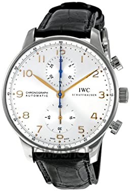 IWC Portuguese Men's Chronograph Automatic Watch - 3714-45