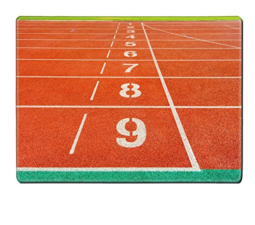 Luxlady Placemats IMAGE ID: 34395274 running track (Heat Track Mats compare prices)